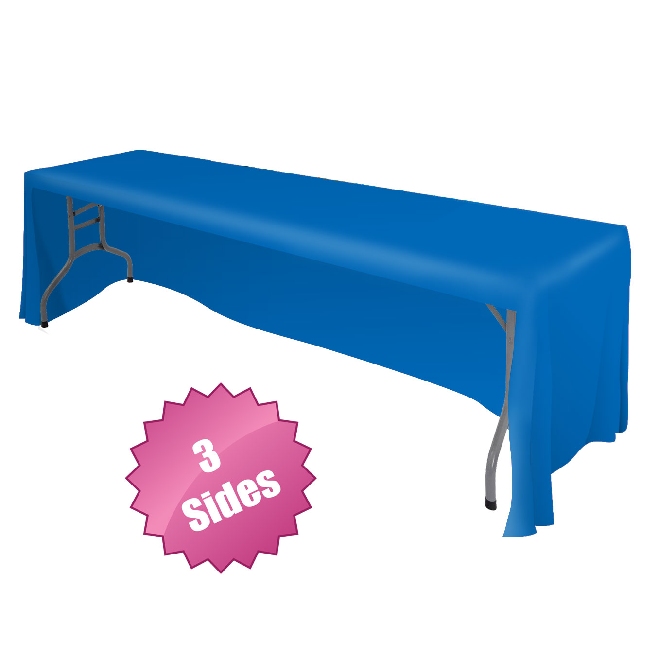 Front Logo Table Throw-7