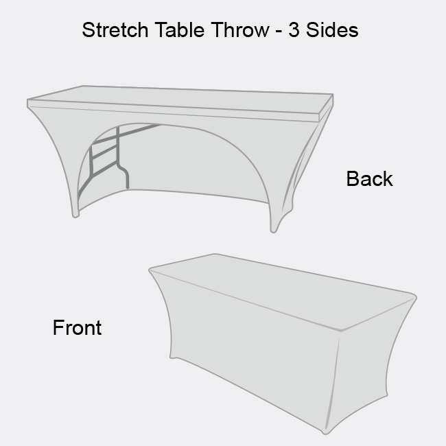 High Definition Stretch Table Throw-3