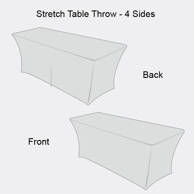 High Definition Stretch Table Throw-4