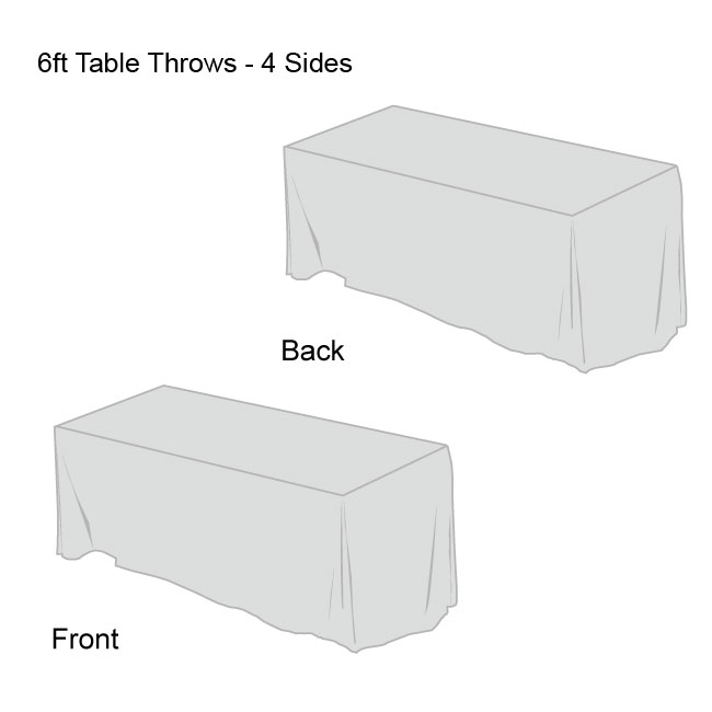 Front Logo Table Throw-4