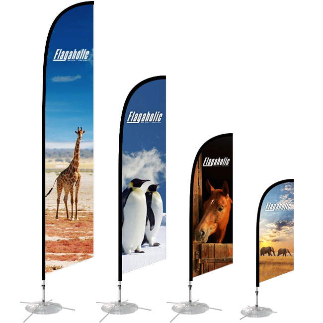 Large Feather Banner 4.6M-2